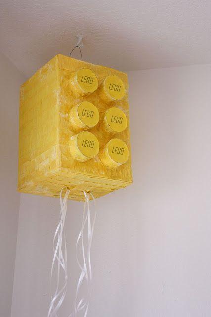 DIY Lego Pull Pinata-Instructions