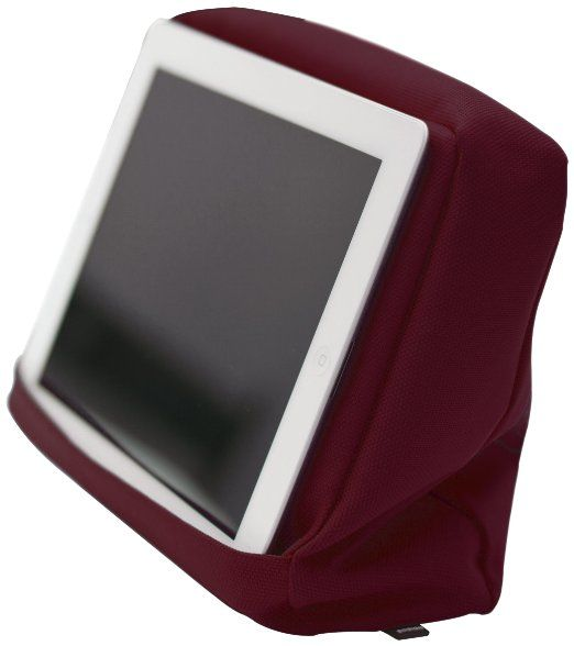 Bosign Tabletpillow Hitech 2 per iPad/Tablet PC, Cuscino da Divano/Letto con Tasca Porta Tablet, Vinaccia/Nero EURO 18,00