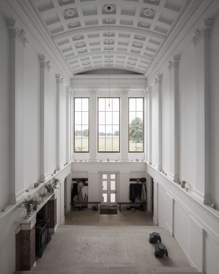 Entrance Hall to Norfolk House by Carmody Groarke