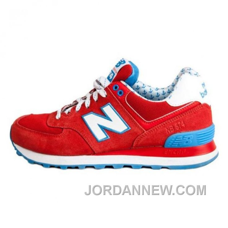 new balance 574 red blue