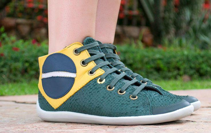 Taquilla - Tênis bandeira do Brasil Orcade - Loja online de sapatos femininos