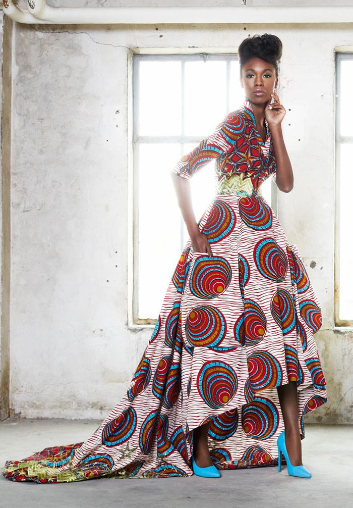 DESIGNERS TAKE NOTE: Vlisco's 'African' Textiles