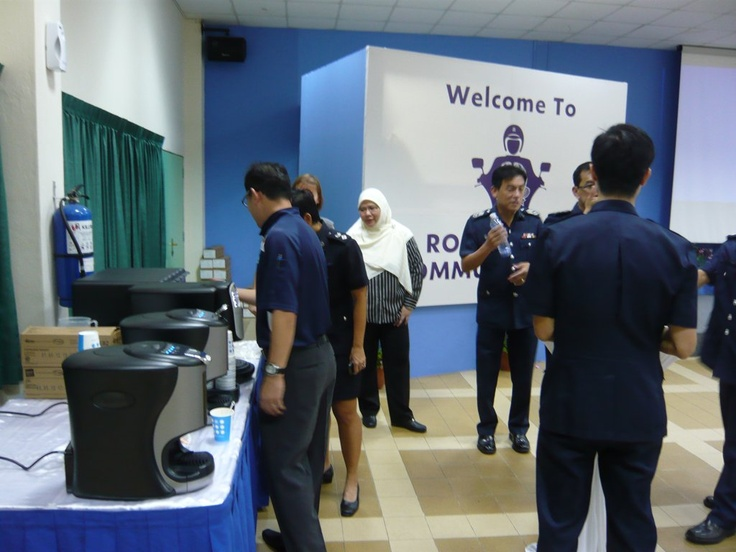 Launching a Coffee Machine brand into Singapore Police Force