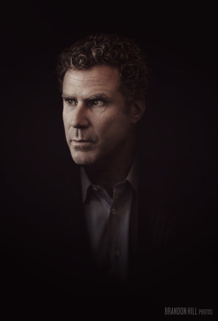 Portrait of Will Ferrell.  For Corbis.