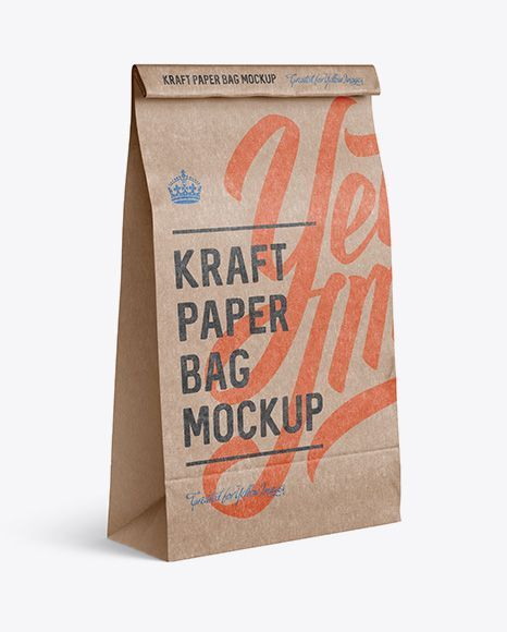 9481+ Bag Food Mockup for Branding