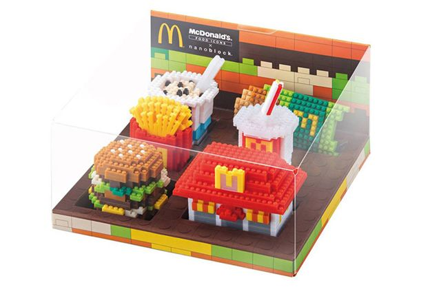 Nano-happiness from #mcdonalds   #nanoblock
