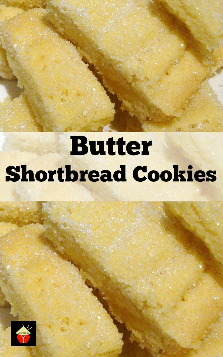 Butter Shortbread simply a delight to eat! The dough is so easy to ...