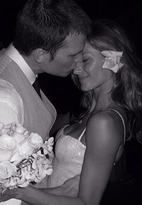 Tom Brady & Gisele Bundchen m.2009