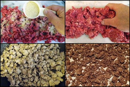 How to dehydrate basic ingredients: Ground beef Canned chicken Beans Vegetables Tomato sauce leather Instant rice