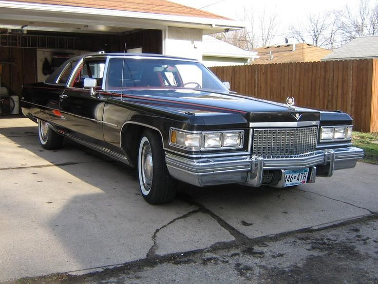 Tex in real life: A 1975 Cadillac Coupe de Ville.
