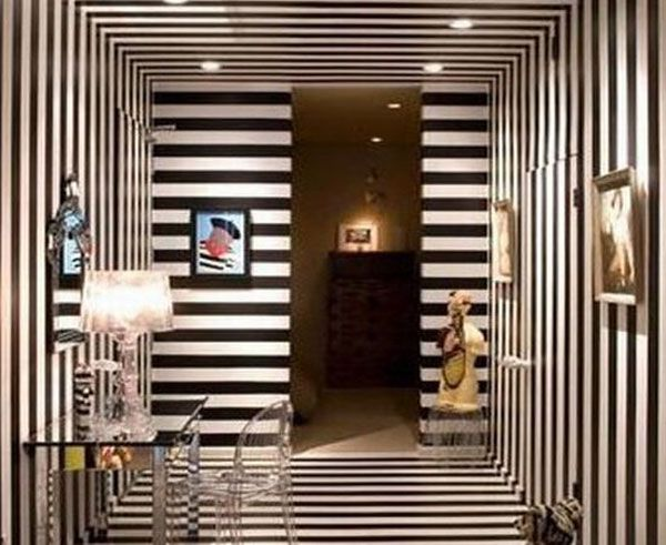 1000 ideas about striped walls horizontal on pinterest room paint designs striped walls and. Black Bedroom Furniture Sets. Home Design Ideas
