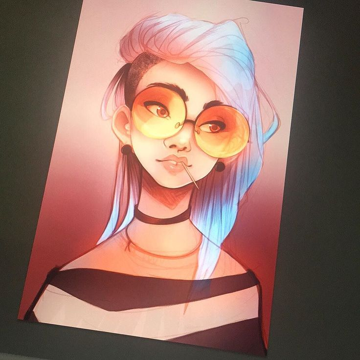 Pushing the colors and adding more details to my girlie  Working on my @wacom Cintiq 21 UX  #art #artist #artistoninstagram #drawing #drawings #sketch #sketching #wacom #digitalart