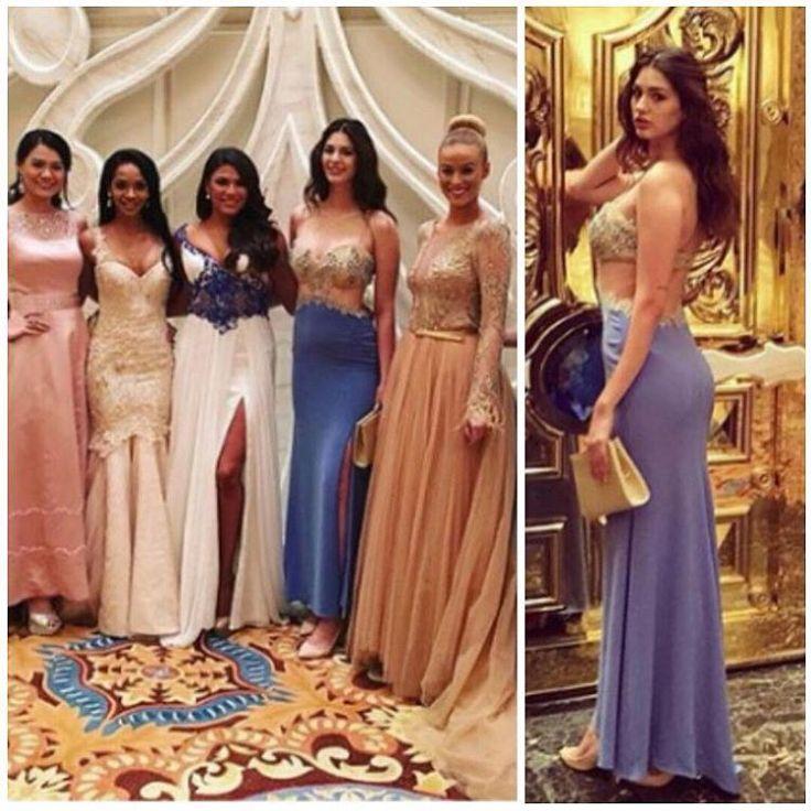 Sevgili Ecem'in Alchera elbisesiyle, Miss World 2015 Gala Yemeği ışıltısı #missturkey2015 #missworld2015 #missworldturkey2015 #ecemçırpan #dünyagüzellikyarışması #blackswancasting @ecemcirpannn