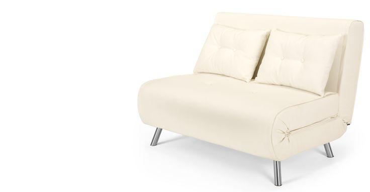 Haru Small Sofa bed, Ibis Cream £269