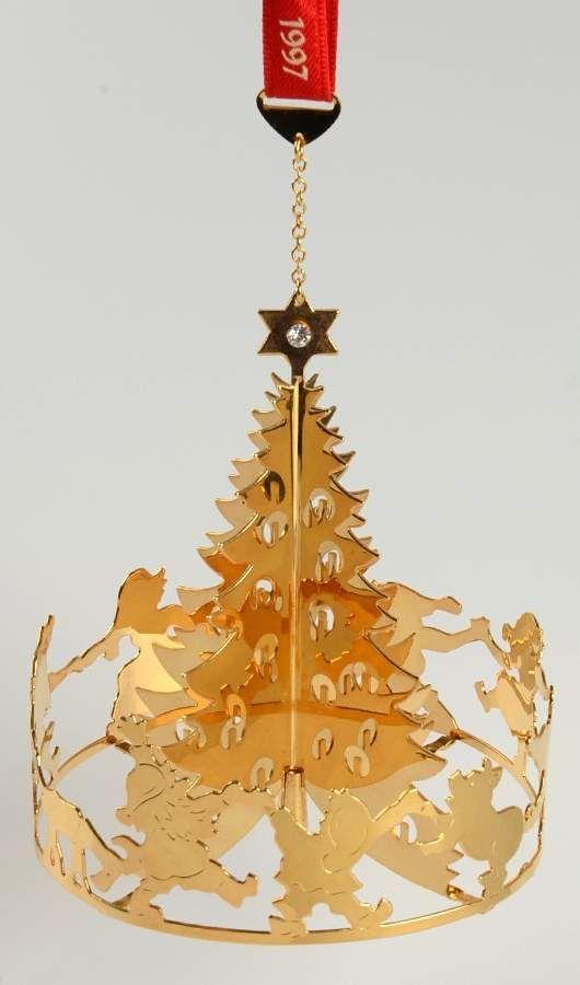 Georg Jensen (Denmark) Annual Christmas Mobile Ornament Christmas Joy -  Boxed - Georg Jensen (Denmark) Annual Christmas Mobile Ornament Christmas