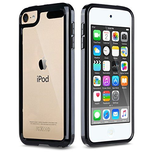 iPod Touch 6 Case,iPod Touch 5 Case,ULAK [CLEAR SLIM] Hybrid Premium Clear Bumper TPU/Scratch Resistant Hard PC Back Cover/Corner Shock Absorption Case for Apple iPod Touch 5 6th Gen_Black  http://topcellulardeals.com/product/ulak-soft-tpu-bumper-pc-back-hybrid-case-for-ipod-touch-6ipod-touch-5-retail-packaging-clear-slim-clear/?attribute_pa_color=black  Crystal clear iPod Touch 5 & 6 Case is specially designed for Apple iPod Touch 5 & 6th Generation,not fit for ipod