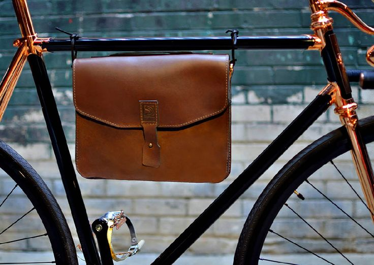 """digitalstig: """" Detroit Cargo Bicycle Bag Steampunk/Retro bicycle accessories at their finest. From here. """""""
