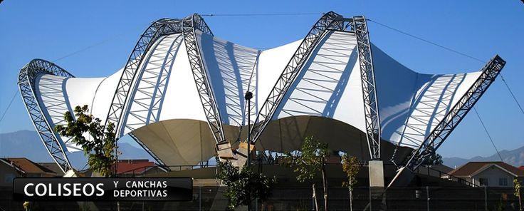 Tenso Estructuras, Coberturas Tensionadas, Estructuras Tensionadas, Tensoestructuras Perú Venezuela Colombia Chile Cancun - Cidelsa
