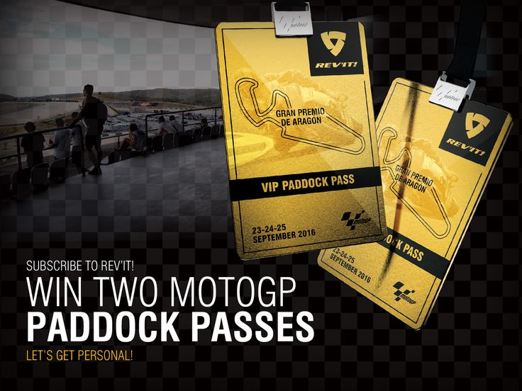 Subscribe to the @REVIT e-newsletter and #win two @officialmotogp  paddock passes for the Aragon round of the championship.
