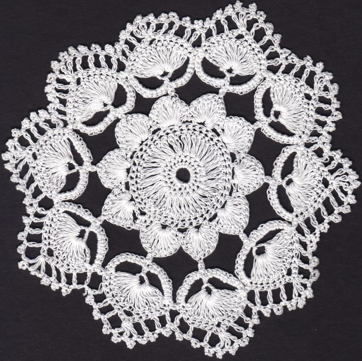 Hand made lace from Koniaków in Poland