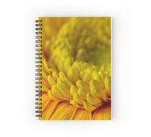 Spiral Notebook. #gerbera #yellowgerbera #yellowgerberaflower #gerberamacro #macro #sandrafoster #sandrafosterredbubble  #redbubble