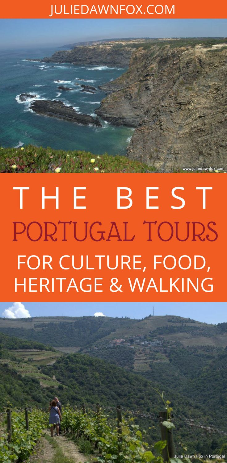 From half-day experiences to 2-week itineraries, I've selected some of the best cultural and walking tours in Portugal, with and without a guide. With the exception of my self-guided or audio-guided tours, they are all booked through and managed by local Portuguese tour operators that I know and trust. Click through to see the best tours in Portugal for culture, food, heritage and walking.   Julie Dawn Fox in Portugal #portugal #walkingtours #besttours #traveltips #localtips