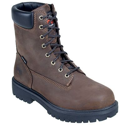 Timberland Pro Boots Men's Brown Oiled Full-Grain 38022 Waterproof Insulated Work Boots