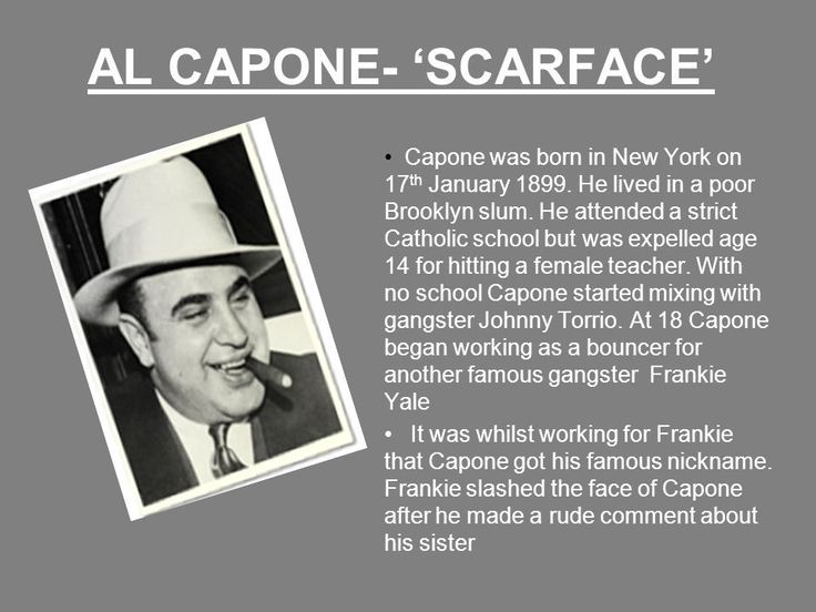 25 Best Ideas About Al Capone Scar On Pinterest Real