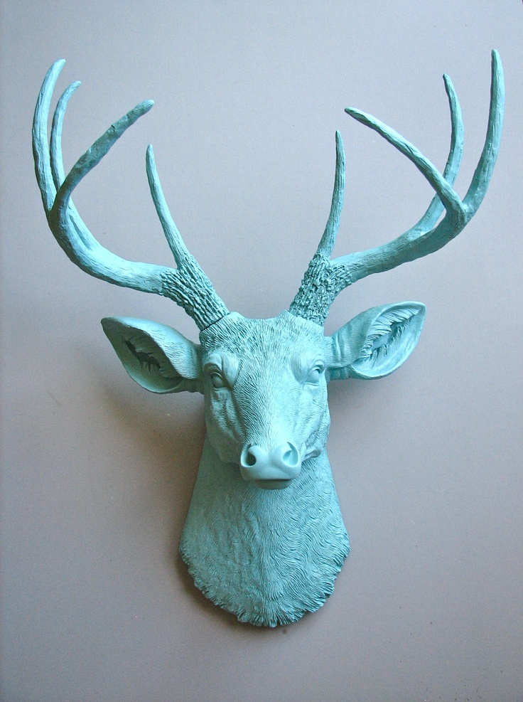 Faux Deer Head. I would like to make a faux caught animal buddha head or some such. It would be hipsterish on the surface, but carry the deep meaning that all animals have buddha nature, and that killing them is like mounting a buddha on your wall. Not cool.