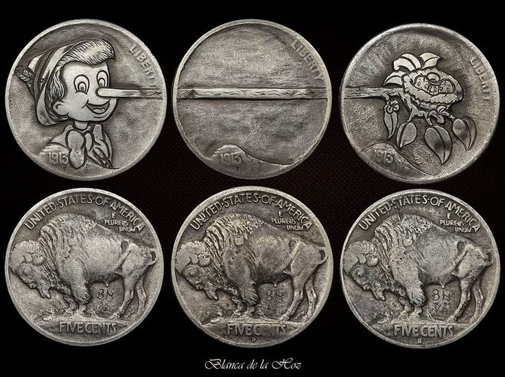 BLANCA DE LA HOZ HOBO NICKEL SET: LIAR PINOCCHIO