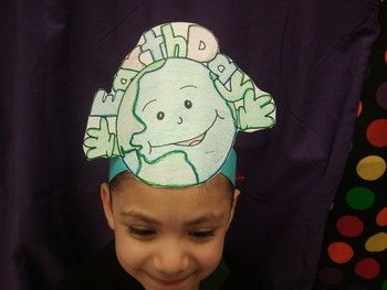 Celebrate Earth Day by having your kiddos wear this Earth Day hat. Just have your kiddos color, cut and you staple/glue to a sentence strip and TA DA!!! Earth day hats. Included are 1 large hat pattern and 1 with 2 smaller versions.