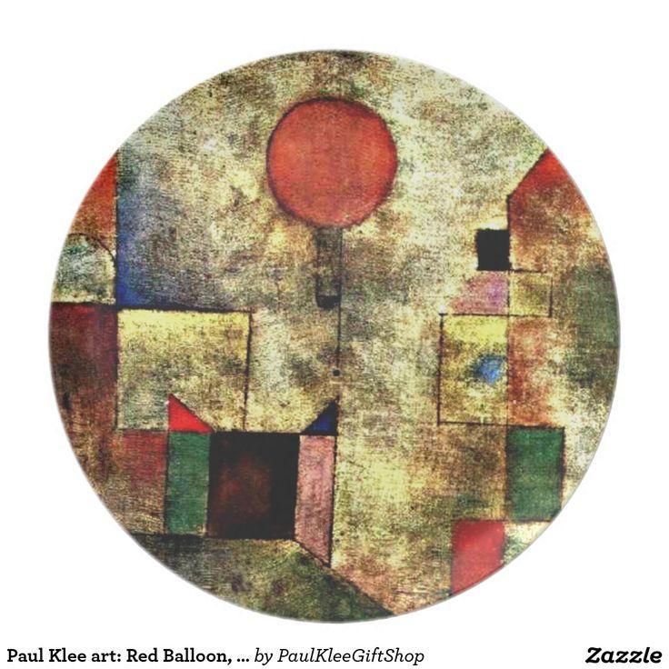 De kunst van Paul Klee: Rode Ballon, het beroemde Bord