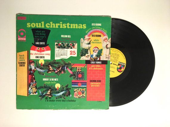 *Please read the condition notes at the bottom *  Various ‎– Soul Christmas  Label: ATCO Records ‎– SD 33-269 Format: Vinyl, LP, Compilation Country: US Released: 1968 Genre: Funk / Soul Style: Soul  Tracklist:  A1 - Clarence Carter - Back Door Santa A2 - King Curtis - The Christmas Song A3 - Otis Redding - White Christmas A4 - Joe Tex - Ill Make Every Day Christmas (For My Woman) A5 - Booker T. & The MGs - Silver Bells A6 - Carla Thomas - Gee Whiz, Its Christmas B1 - Otis Redding - Merry…