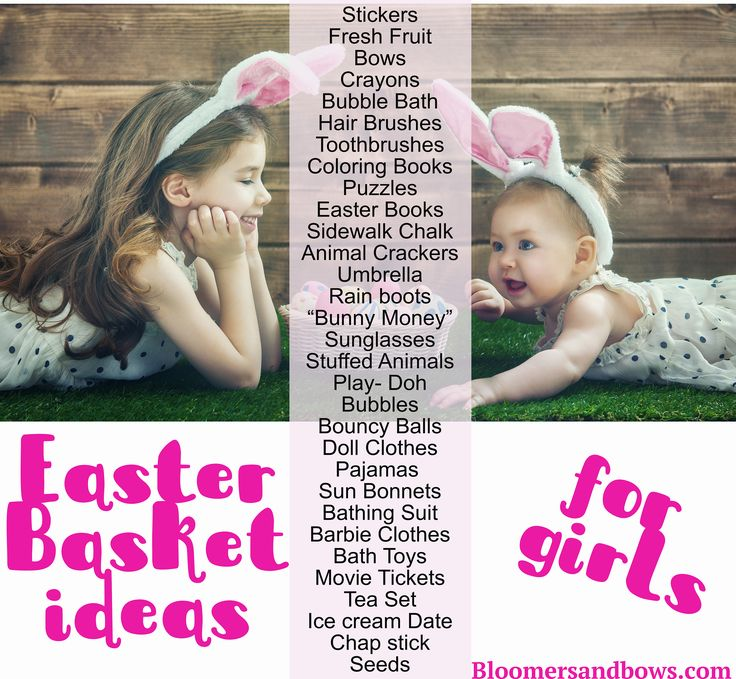 """Best Fillers for Easter Baskets and Easter Eggs. Bloomers and Bows 