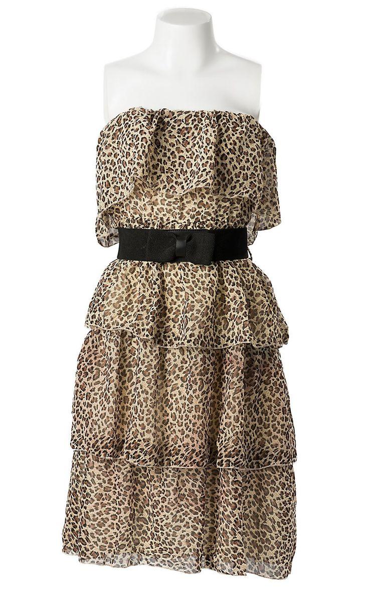 plus size attire excessive low