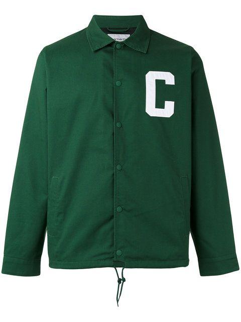CARHARTT letter shirt jacket. #carhartt #cloth #文字印花夹克