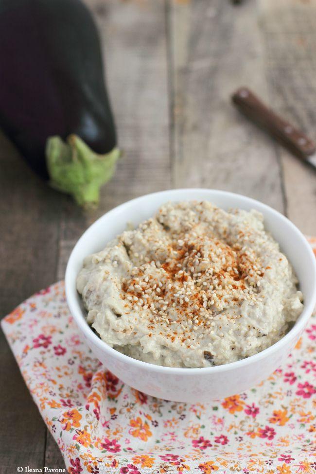 Hummus di melanzane ( babaganoush )
