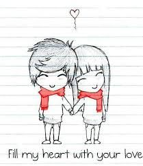cute drawings of love - Google Search