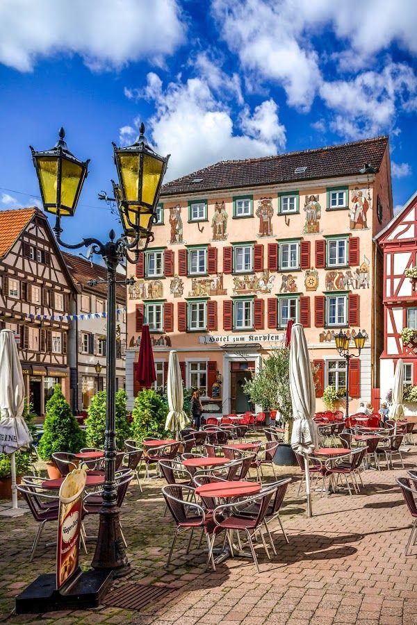 Cafe in Eberbach, Germany