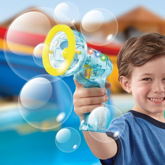 Have fun this summer with a Discover Kids Bubble Blower!
