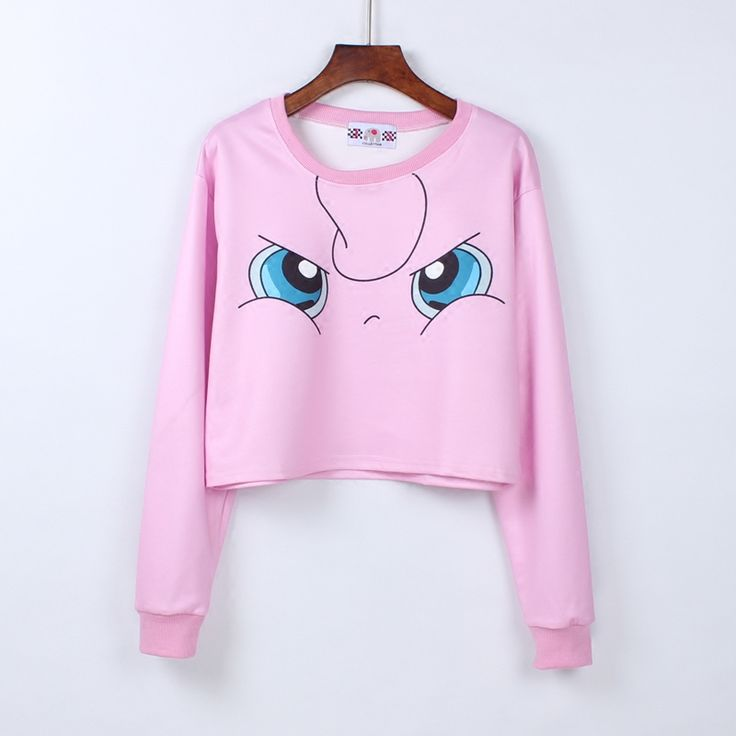 Girly Girl Dresses Crop Top on Girly Girl の To Alice.Japanese Anime Pokemon Crop Top Cute Long Sleeve T-Shirt Gg261 is a must to make an amazing outfit. You can wear it in any occasion - school, office, dates, and parties.
