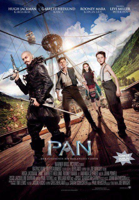 Pan (2015) Türkçe Dublaj Bluray film indir