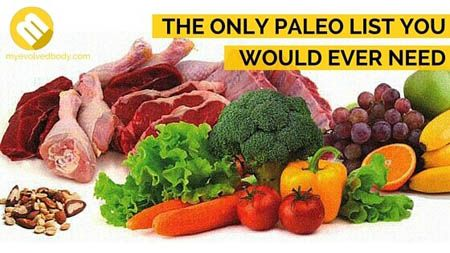 Ever wonder what's in a paleo diet? We created a complete guide of paleo foods that should be in your grocery list. #yummy #healthychoices #health #healthyeating #eat