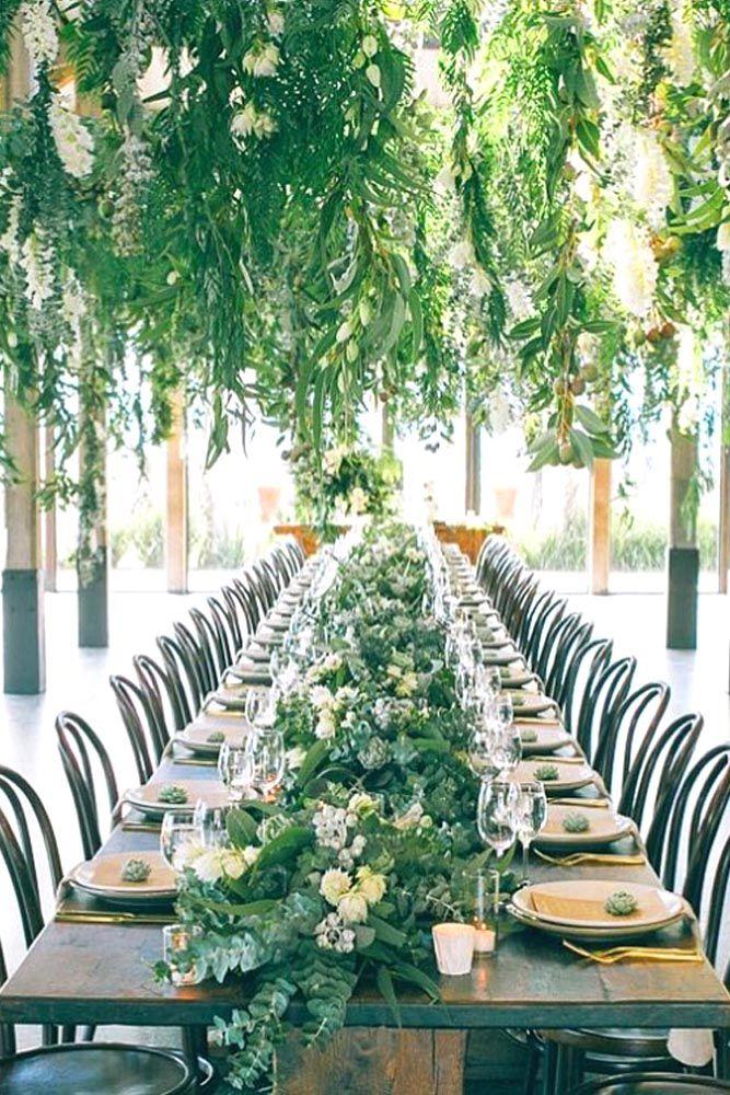 30 Greenery Wedding Decor Ideas Budget Friendly