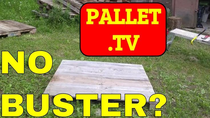 Dismantle Pallets is the key, but they are not all created equal. In this particular video I'm going to show you how to dismantle a block pallet as opposed t...