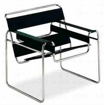 Bauhaus Wassily chair, Marcel Breuer (1925) - It still amazes me how modern and timeless Bauhaus designs are.