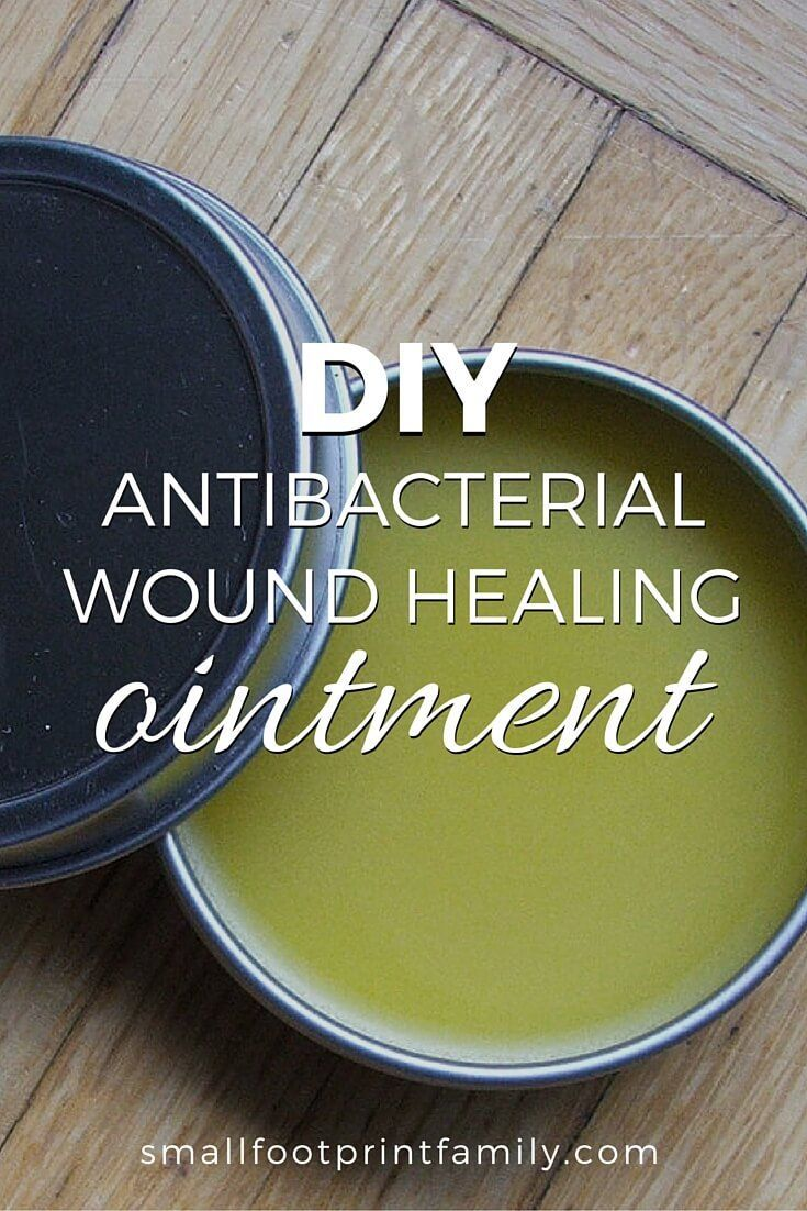 "Try this DIY antibacterial wound healing ointment next time you or your child gets a cut or scrape. It seems to work far better than that ""Neo-antibiotic."""
