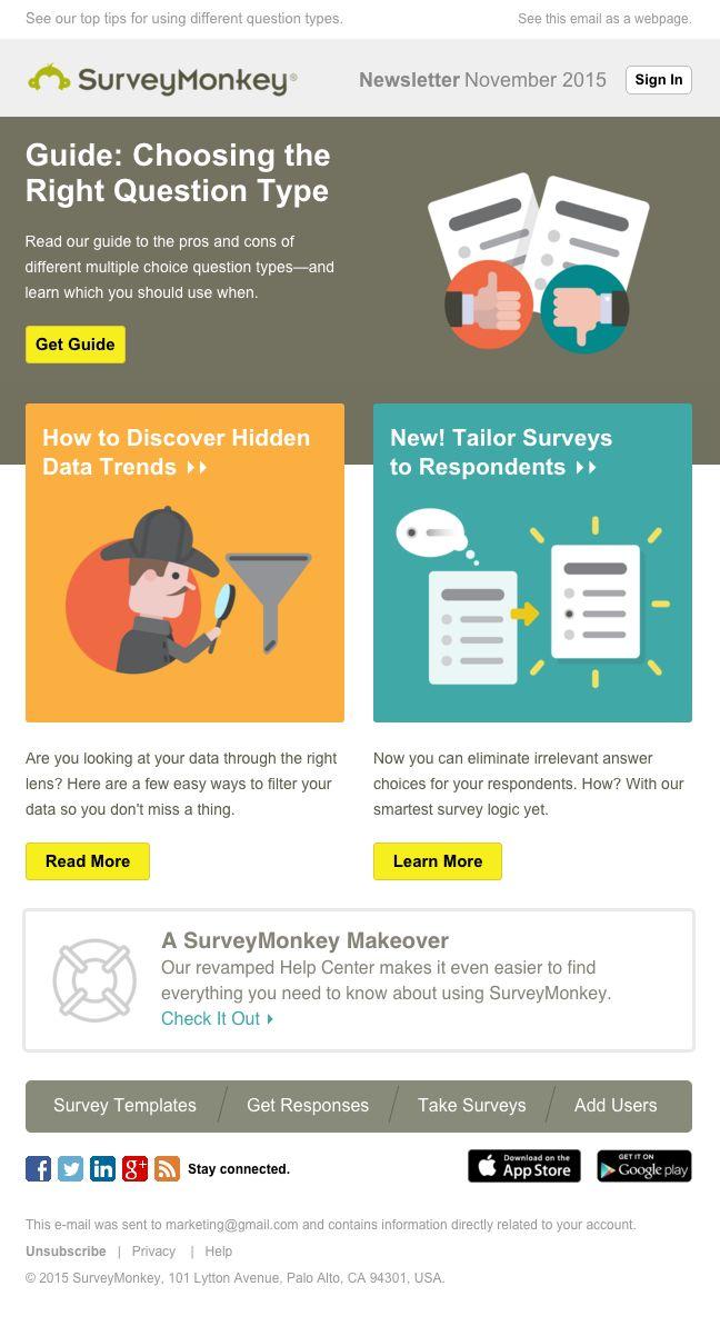 Best Email Design Images On   Email Newsletter Design