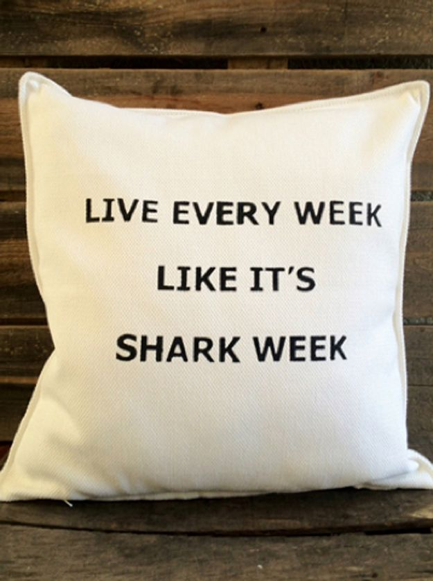 Incorporate a mantra. | 21 Terrifyingly Perfect Gifts For Shark-Loving Kids