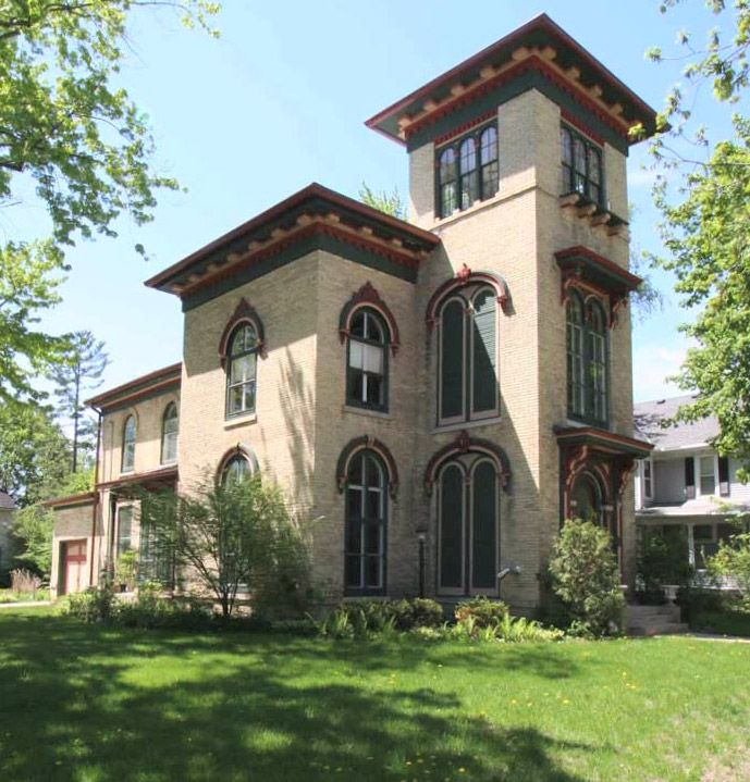 17 best images about back then on pinterest legends for Italianate homes for sale